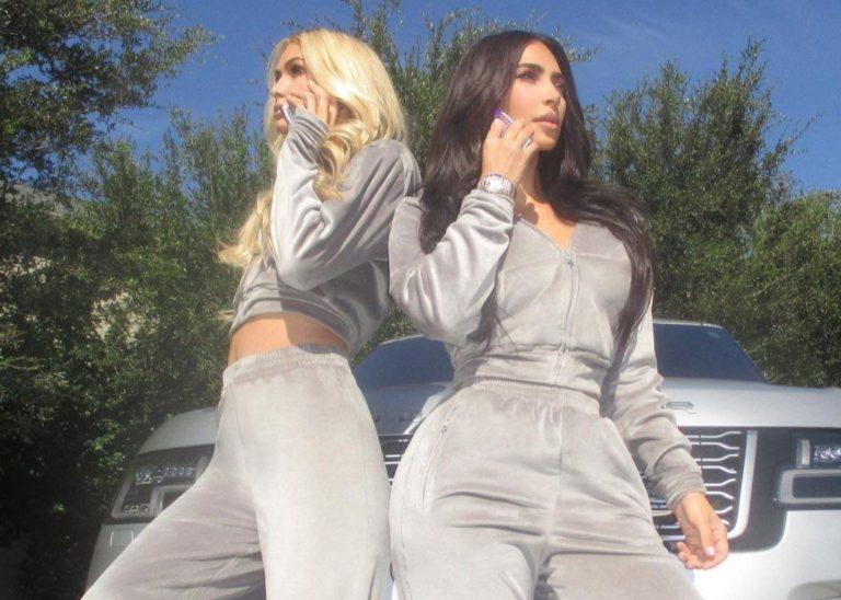 Kim Kardashian Celebrates Her 40th Birthday With New Skims Velour Line — Enlists Paris Hilton
