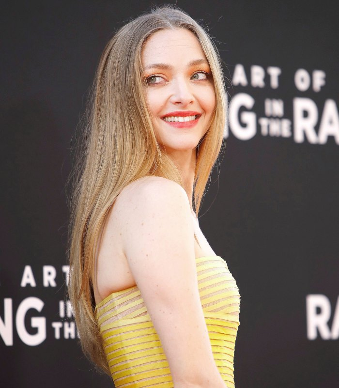 Amanda Seyfried Reveals Bare Baby Bump in Throwback Pregnancy Pic After Secretly Welcoming Son 1