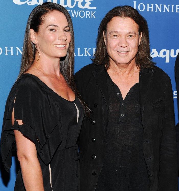 Eddie Van Halen Widow Janie Liszewski Is Shattered After His Death