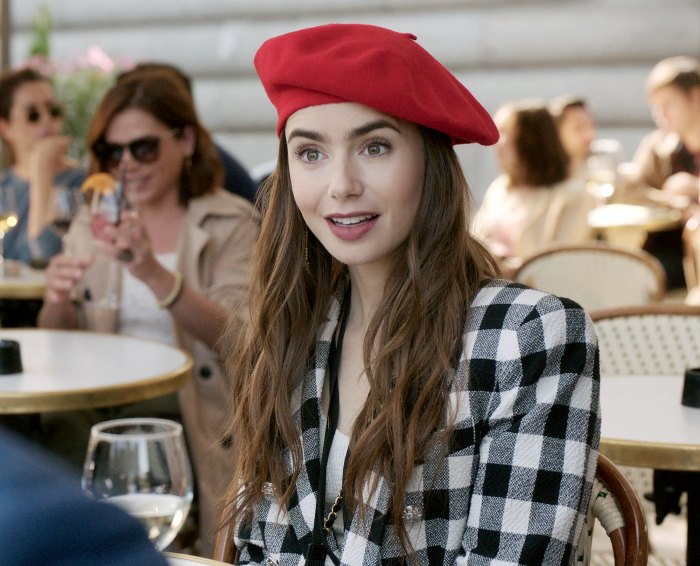 Lily Collins Says Her Emily Paris Character Is Fresh Out College
