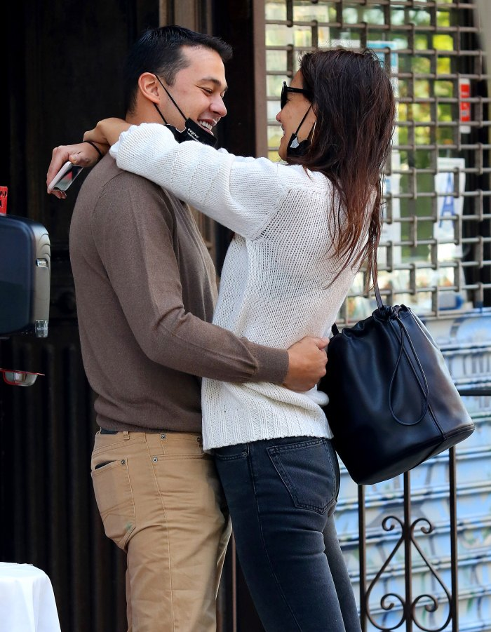 Katie Holmes and Boyfriend Emilio Vitolo Jr. Are Like 'Young Teens in Love': 'It's Constant Smiles'