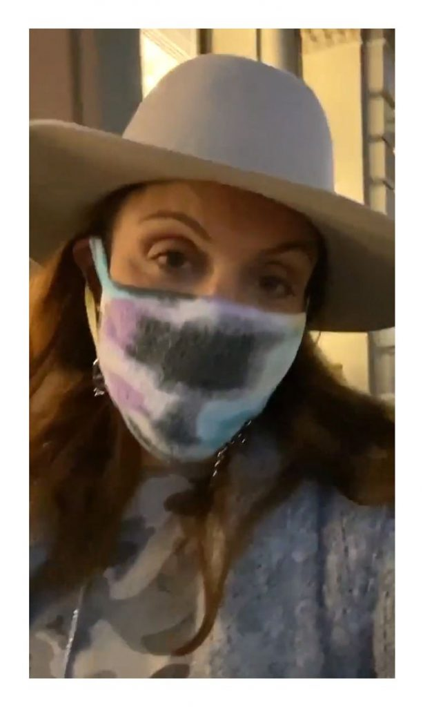 Bethenny Frankel Solo Date Night in New York City