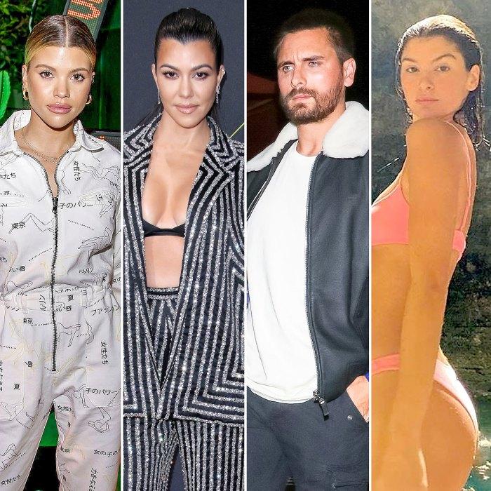 How Sofia Richie Kourtney Kardashian Feel About Scott Disick Bella Banos Dating Rumors