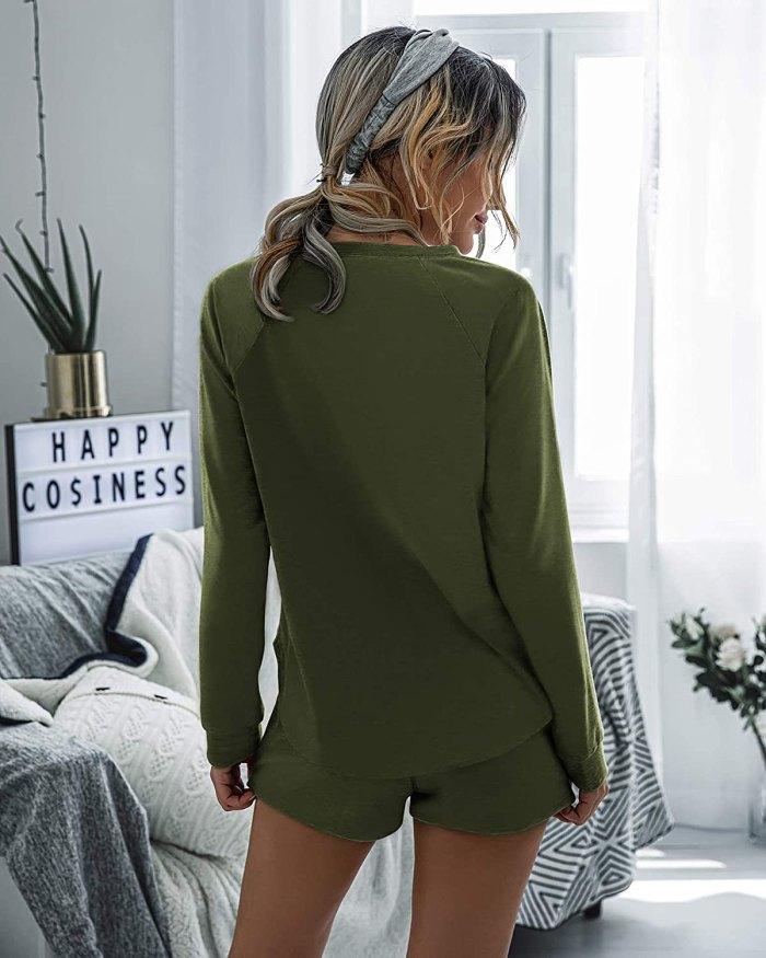Saslax Loungewear Pajama Set
