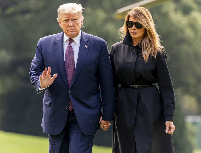 Donald Trump Says He and Melania Trump Tested Positive for Coronavirus