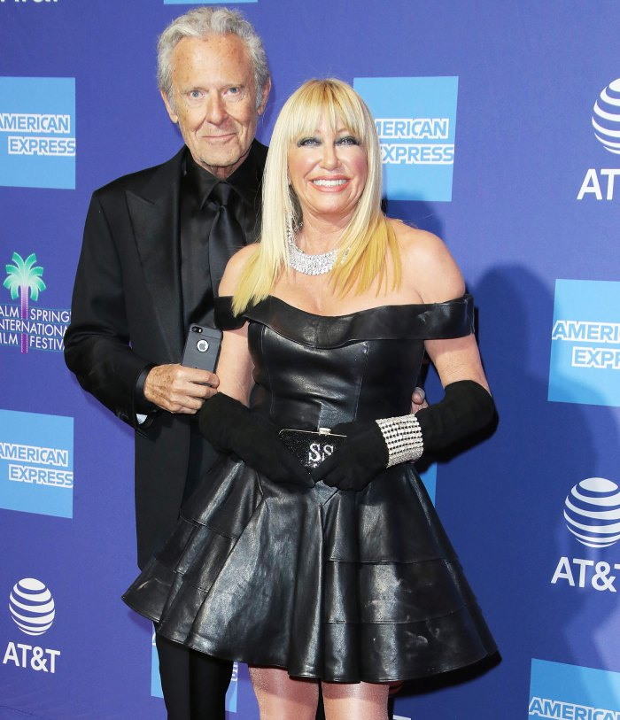 Suzanne Somers Underwent Neck Surgery After Falling Down Stairs With Husband Alan Hamel