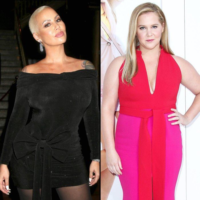 Amber Rose Amy Schumer Helped Me Through Difficult Hyperemesis Gravidarum During Pregnancy