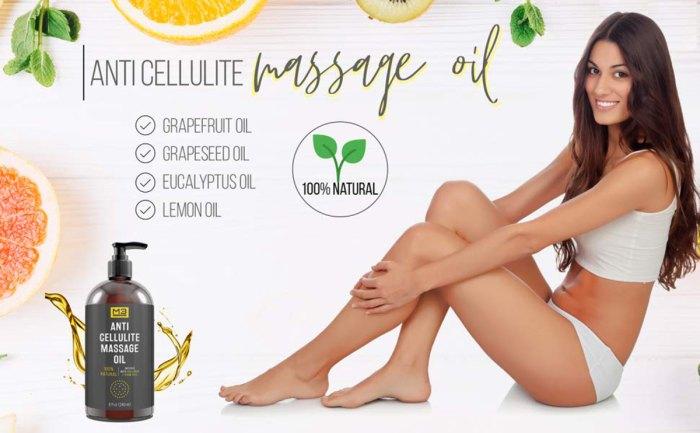 M3 Naturals Anti-Cellulite Massage Oil