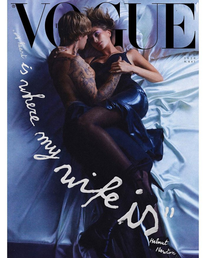 Justin Bieber and Hailey Baldwin Cover 'Vogue Italia' — and It's Hot!
