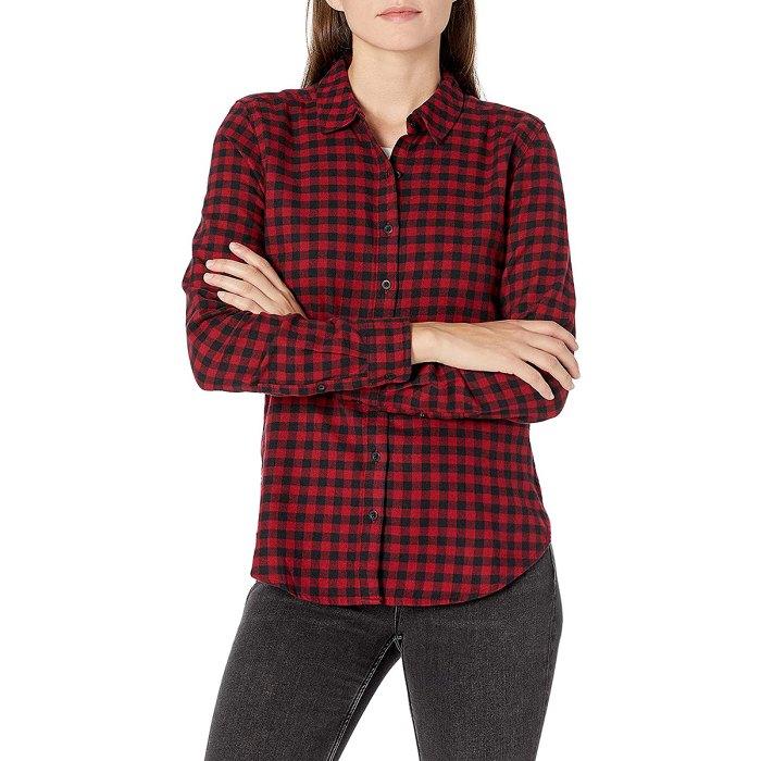 Goodthreads Flannel Slim Fit Long-Sleeve Shirt