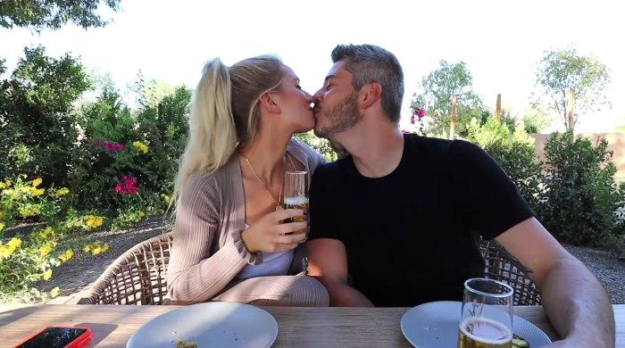 Lauren Burnham Denies Pregnant After Drinking Fake Mimosas Arie Luyendyk Jr Bachelor