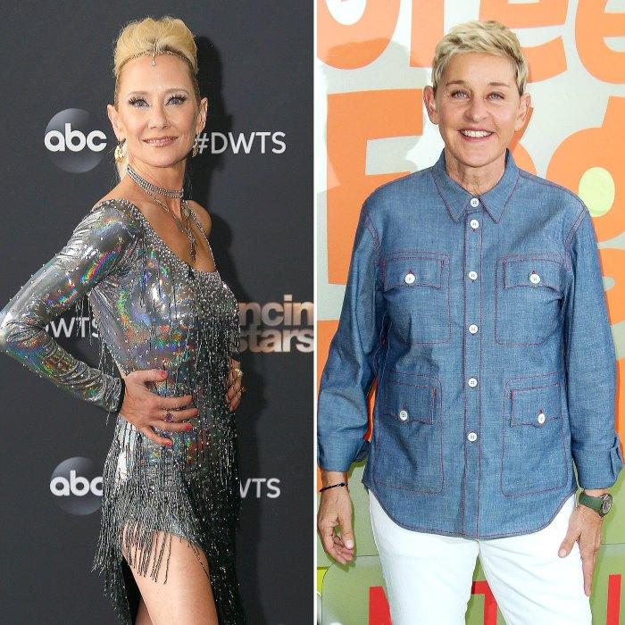 Anne Heche Talks Past Ellen DeGeneres Relationship DWTS