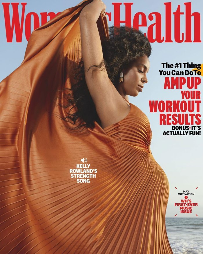 Kelly Rowland Is Pregnant, Expecting 2nd Child With Husband Tim Weatherspoon Womens Health Cover