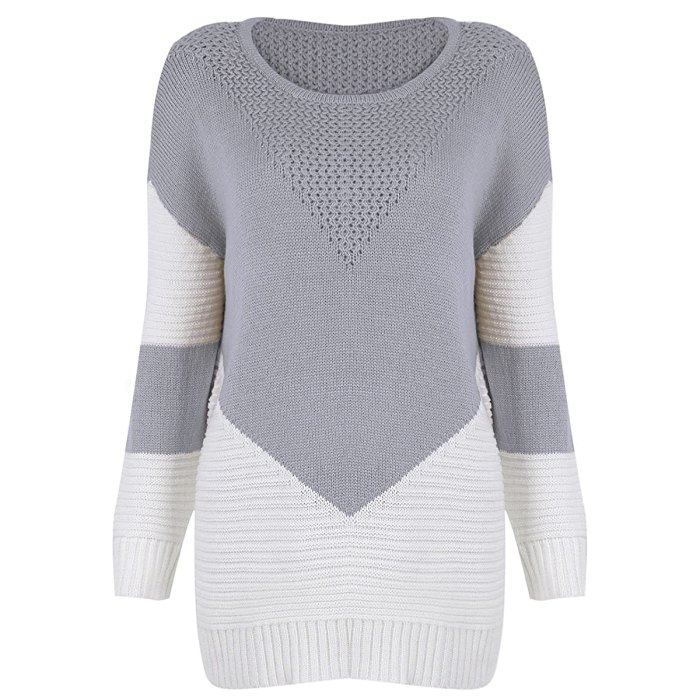Shermie Crew Neck Pullover Sweater