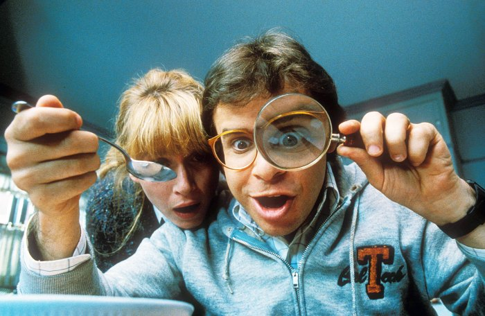Marcia Strassman and Rick Moranis in Honey I Shrunk The Kids Rick Moranis Assaulted in New York City by Stranger