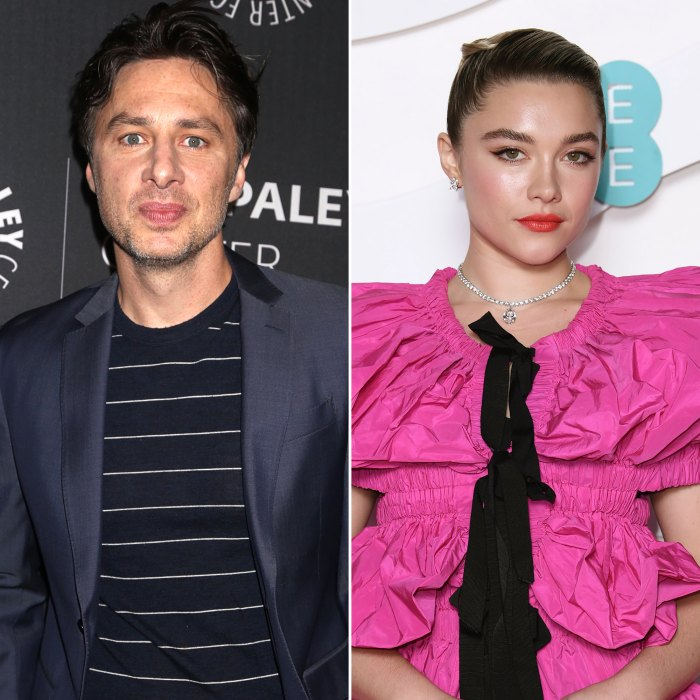 Zach Braff and Girlfriend Florence Pugh Mourn the Death of Their Dog Roscoe