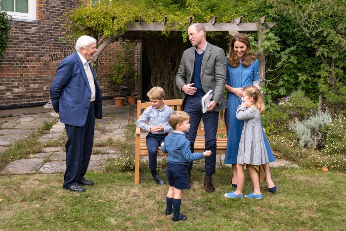 Prince George, Princess Charlotte and Prince Louis Speak on Camera for the 1st Time as They Quiz David Attenborough