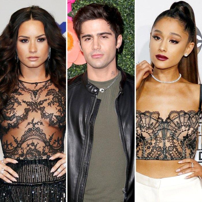 Demi Lovato's Ex Max Ehrich Drags Ariana Grande Into Their Drama