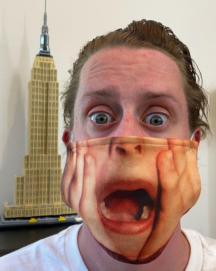 Macaulay Culkin Has the Best Protective Face Mask
