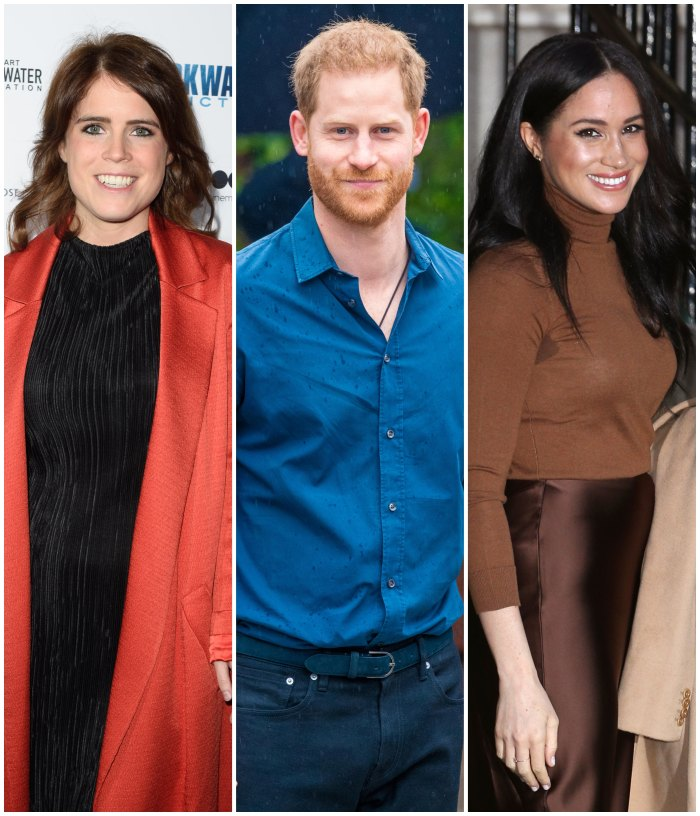 Prince Harry and Meghan Markle Let Pregnant Princess Eugenie Movie Into Their U.K. Home Frogmore Cottage