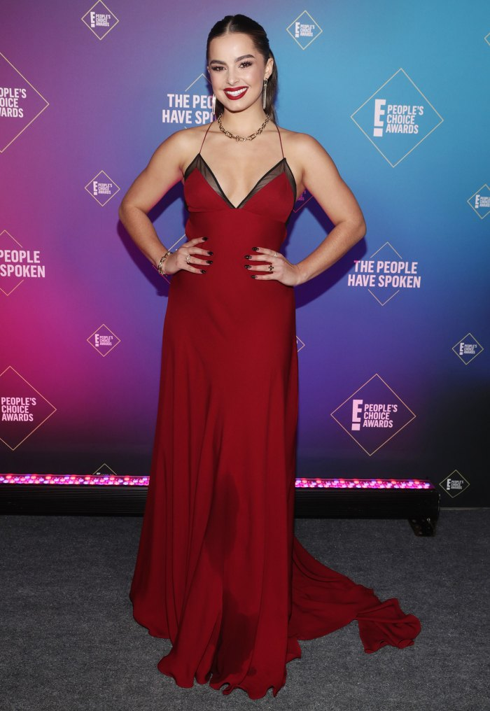Addison Rae beauty people's choice awards 2020