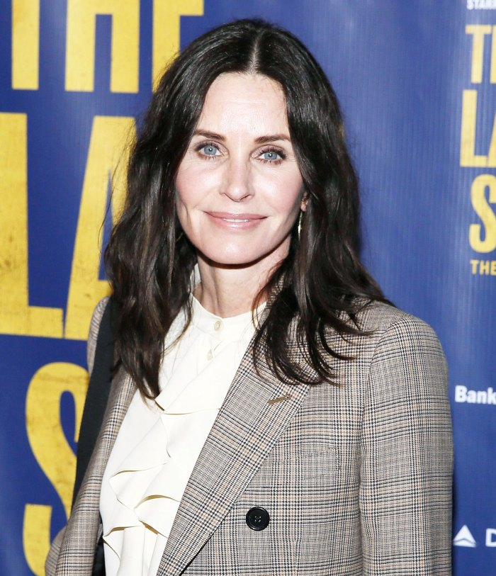 Courteney Cox attends The Last Ship musical Courteney Cox Shares Snap of Microbladed Brows and Stars Cannot Get Enough