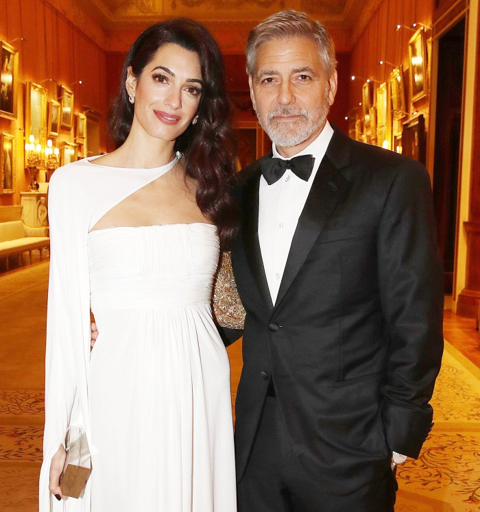 Amal Clooney and George Clooney attend a dinner to celebrate The Princes Trust George Clooney Credits Amal Clooney With Changing His View of Marriage and Kids