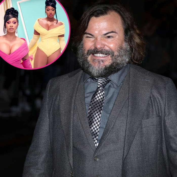 Jack Black Twerks Cardi B Megan Thee Stallion WAP Speedo