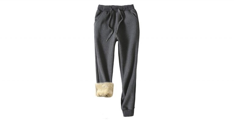 These Sherpa-Lined Joggers Take Comfort to the Extreme