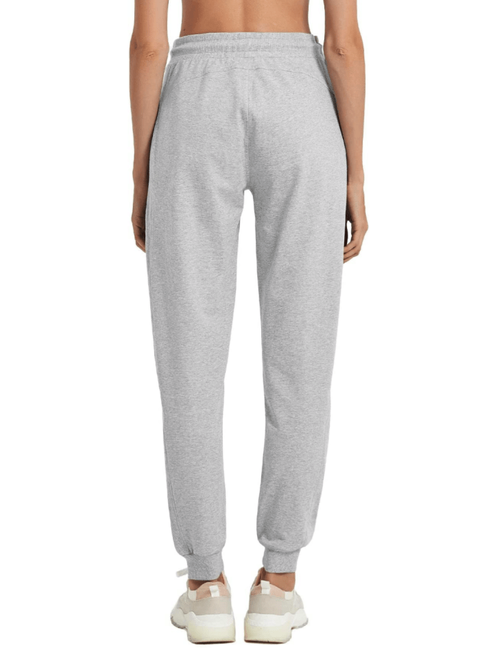 PULI Women Workout Sweatpants Cotton Jogger