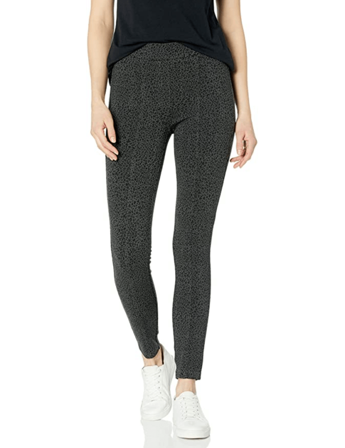 Daily Ritual Women's Seamed Front, 2-Pocket Ponte Knit Legging