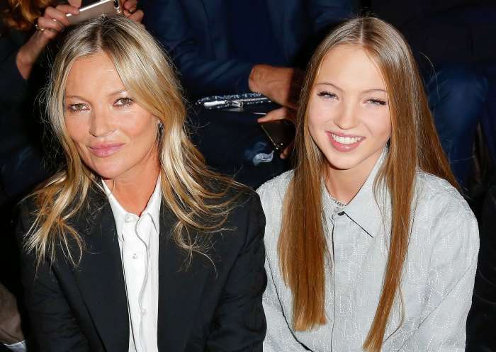 Kate Moss Drops Merch and Models the Clothes Alongside Her Daughter Lila
