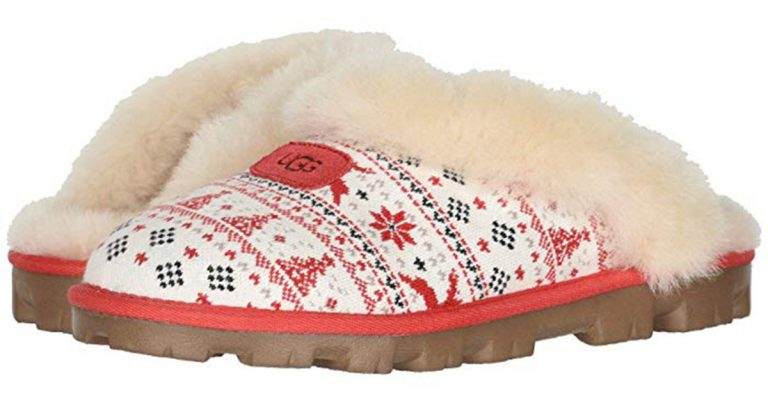 UGG Teamed Up With Zappos for the Ultimate Holiday Slipper!