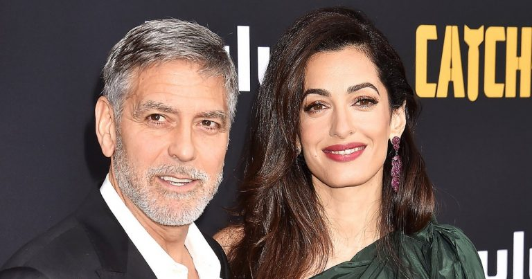 Smart Cookies! George and Amal Clooney's Twins, 3, Are 'Fluent' in Italian