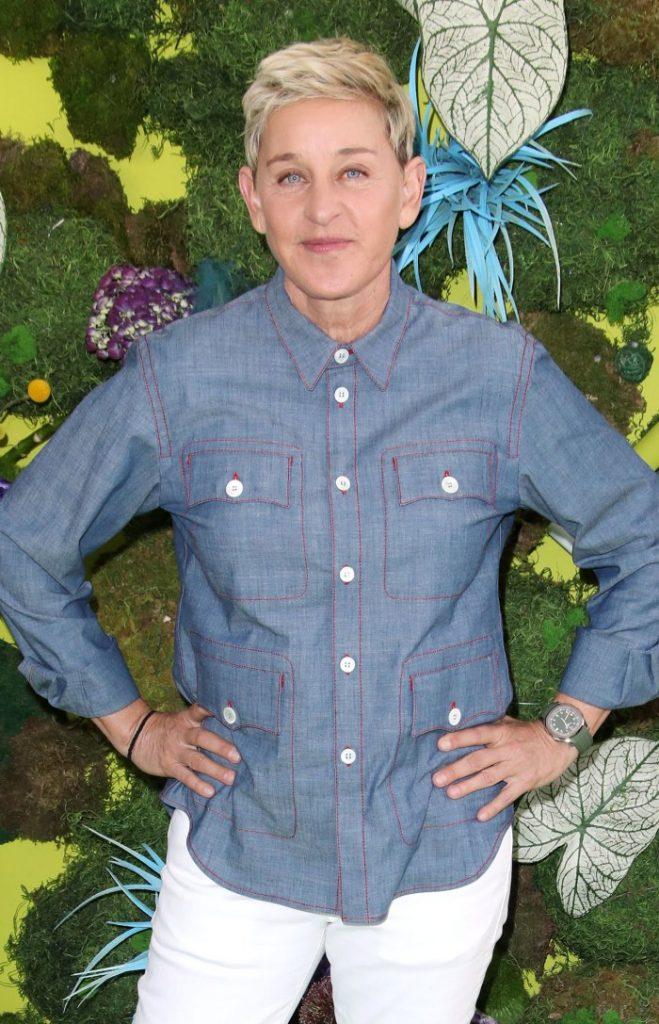 Ellen DeGeneres Test Positive for COVID-19