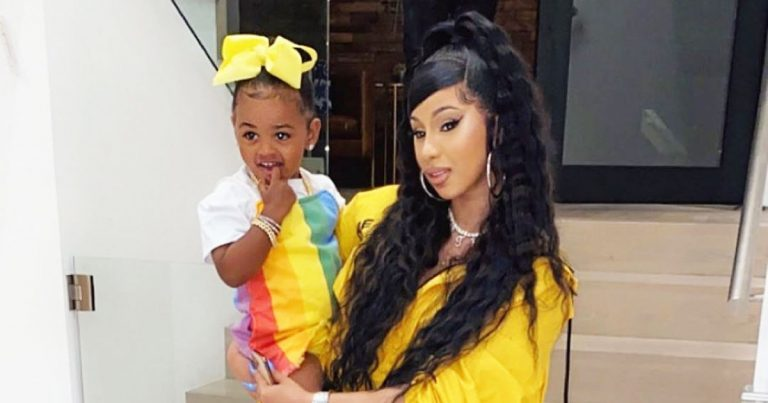 How Cardi B Is Teaching 'Rich' Daughter Kulture, 2, About Privilege