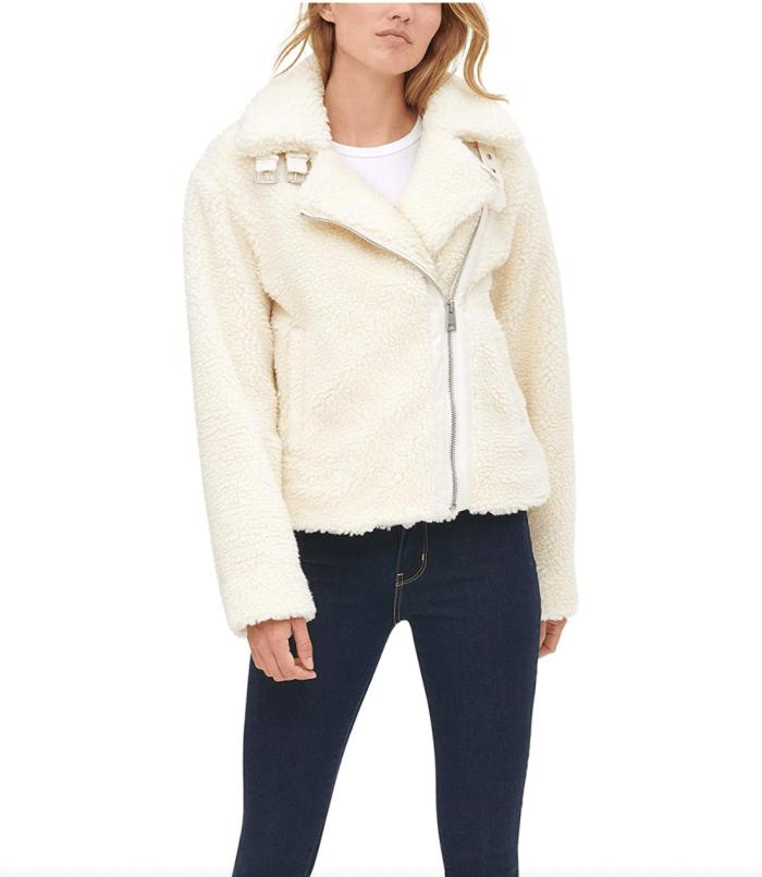 Levi's Women's The Megan Sherpa Moto Jacket