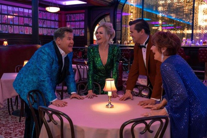 The-Prom-Meryl-Streep James Corden Nicole Kidman Andrew Rannells