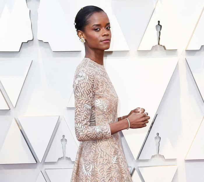 Letitia Wright arrives at Oscars 2019 Black Panther Star Letitia Wright Responds to Backlash Over Anti-Vaccine Tweets