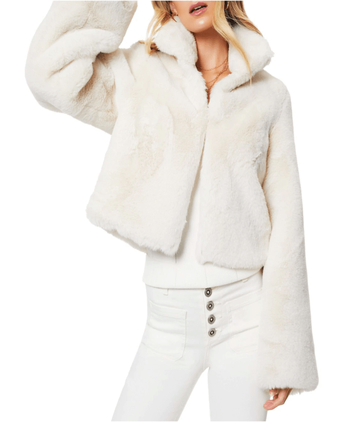 Ramy Brook Andre Faux-Fur Jacket