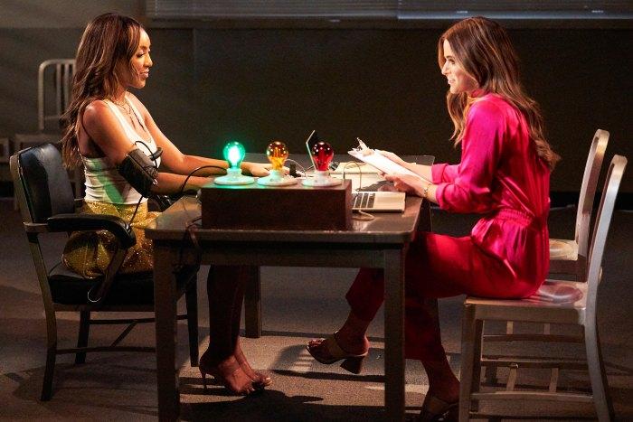 Tayshia Adams The Bachelorette recap 1