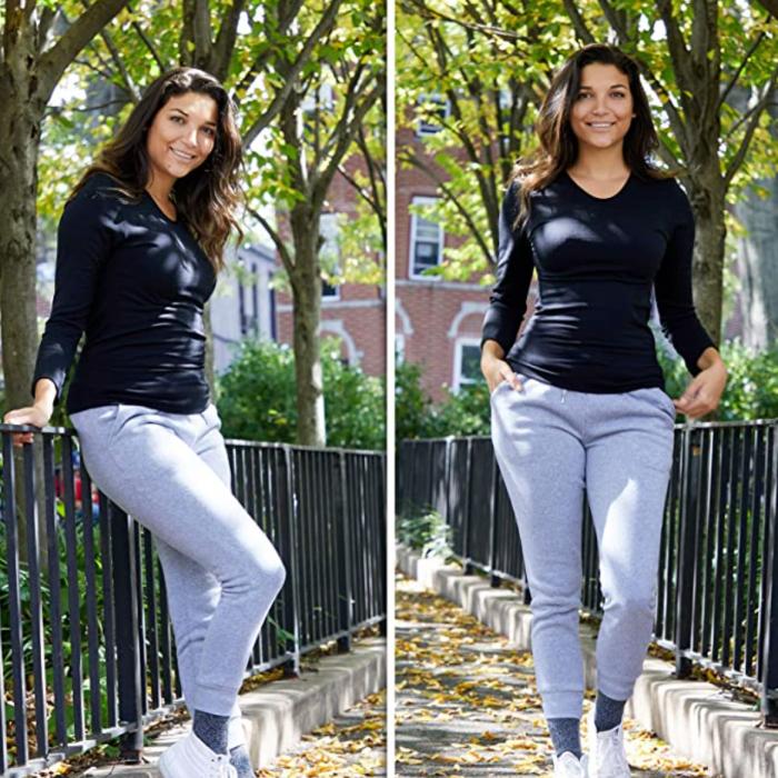 UNIQUE STYLES ASFOOR Fleece Joggers Sweatpants for Women