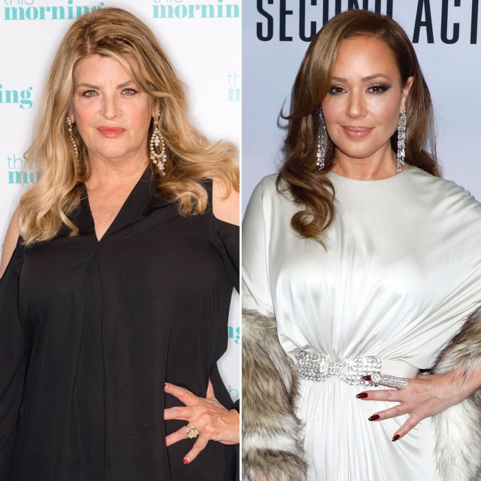 Inside Kirstie Alley and Leah Remini Feud Over Scientology