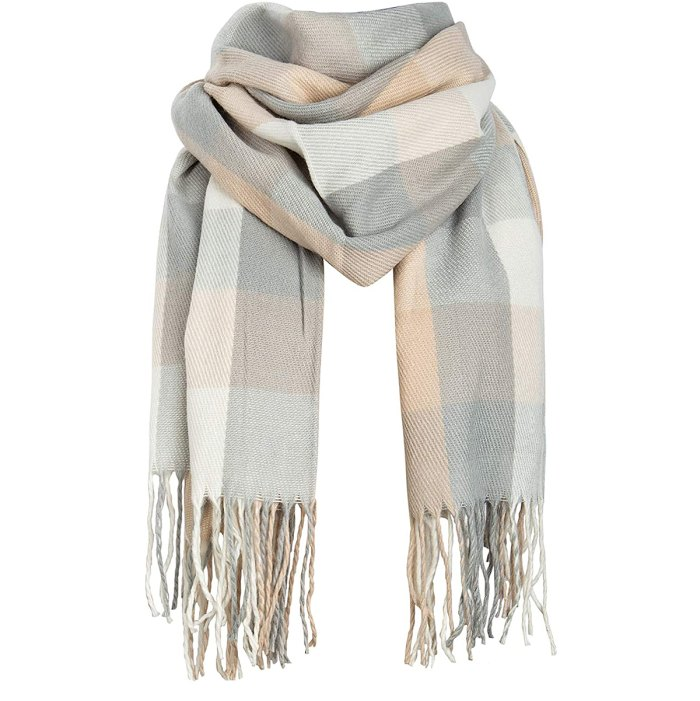 amazon-fast-easy-gifts-plaid-oversized-scarf