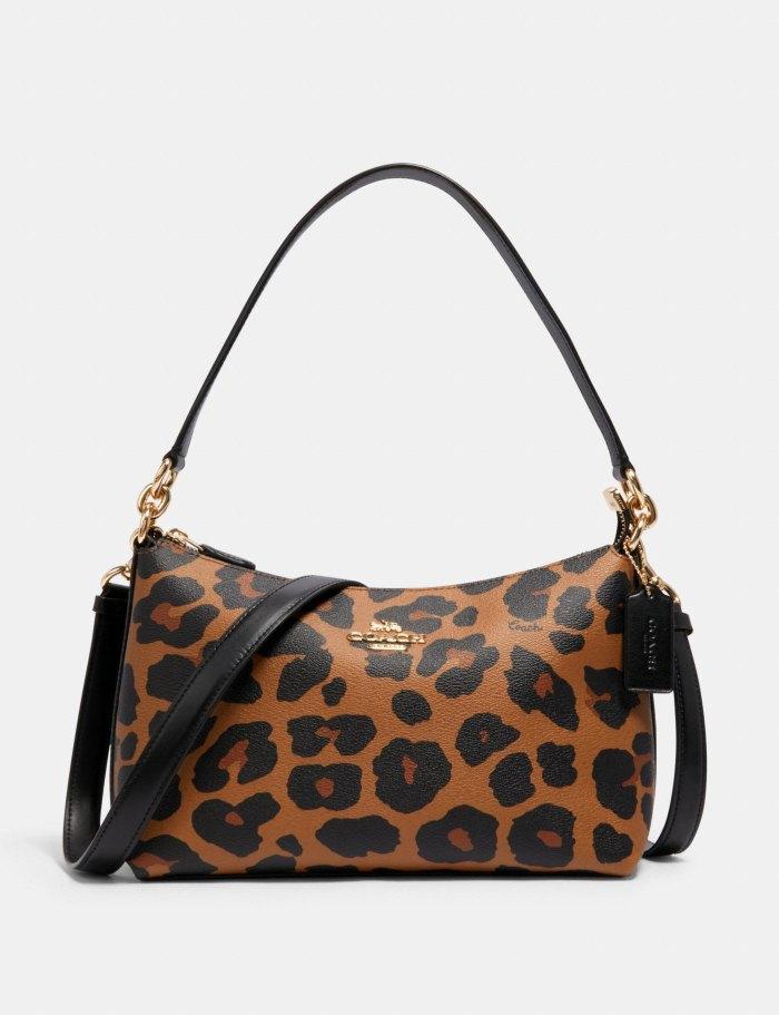 Lewis Shoulder Bag With Leopard Print