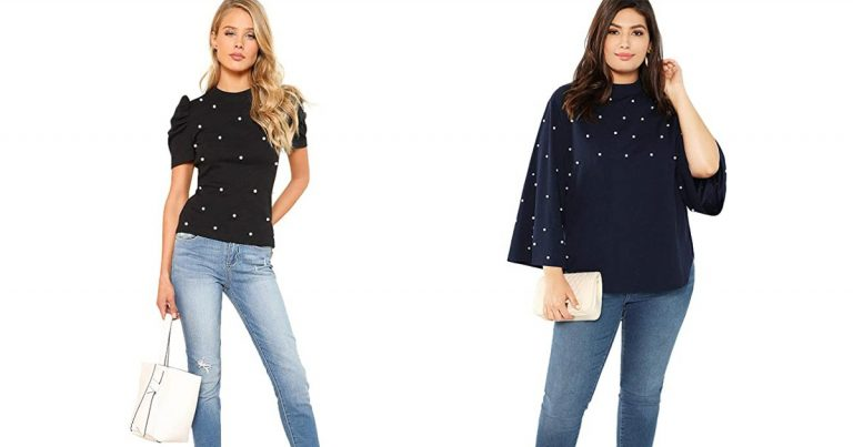 12 Pearl-Embellished Tops That Effortlessly Nail Holiday Style