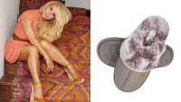 Jessica Simpson Women's Comfy Faux Fur House Slipper