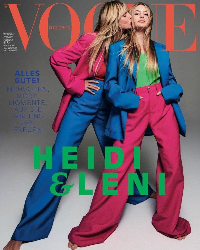 Heidi Klum's Daughter Makes Her Modeling Debut Alongside Her Mom