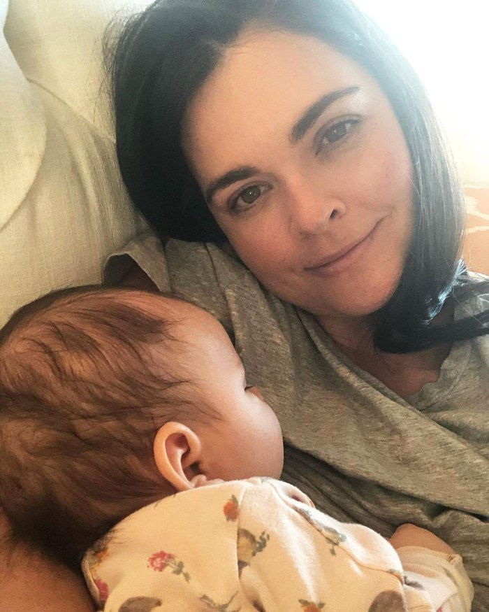 Katie Lee Claps Back at Troll Saying She Holds Daughter Iris Too Much