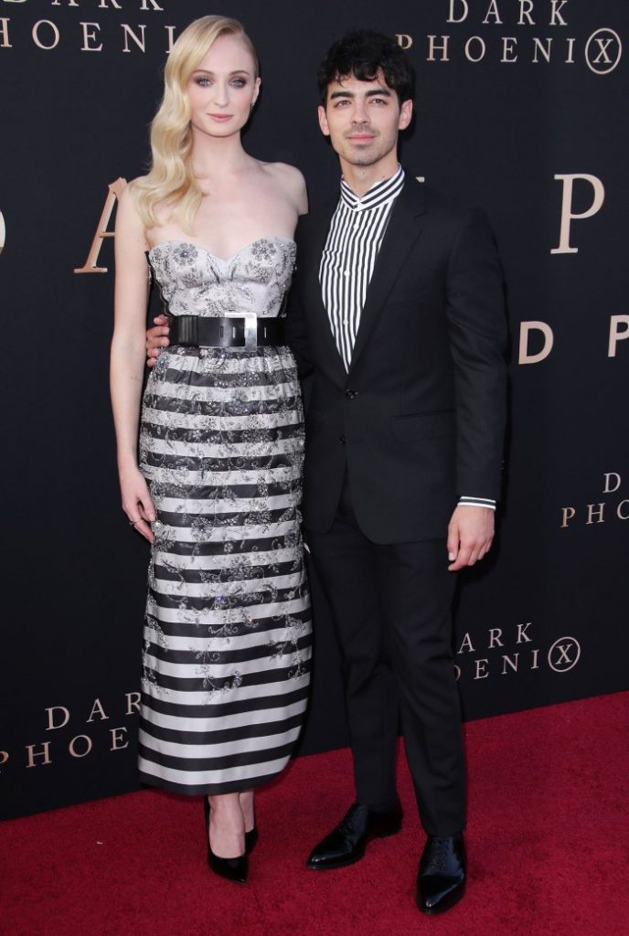 Sophie Turner Flaunts Her Bare Baby Bump While Cuddling Up to Joe Jonas in Pregnancy Throwback